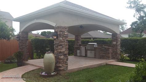 tomball outdoor kitchens fireplaces stonecraft builders