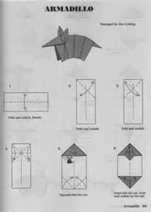 Origami Armadillo - printable anteater mask masks masks