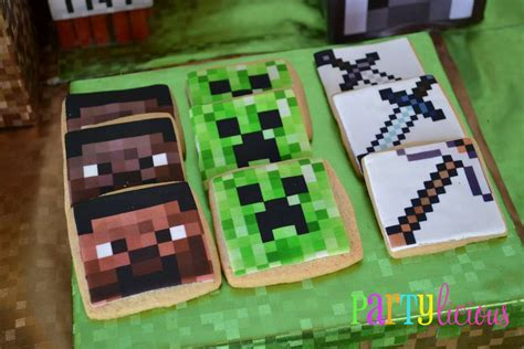 printable minecraft birthday party decorations minecraft birthday party birthday party ideas photo 16