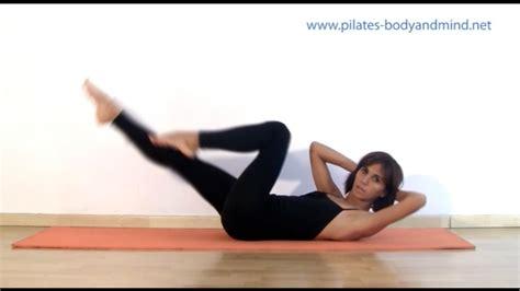 pilates exercises  abdominals abs youtube