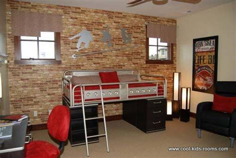 skateboard themed bedroom skateboarding themed bedroom with bricks wall