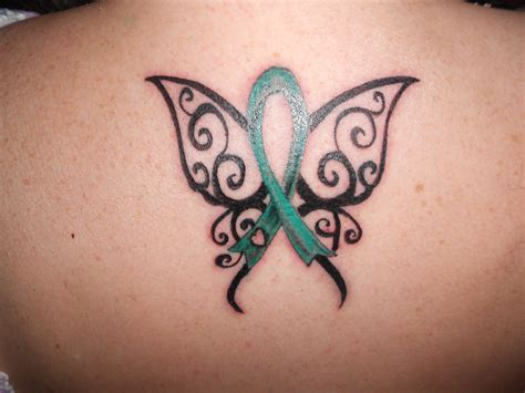 liver cancer tattoos green for liver cancer and organ donor awareness