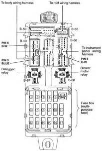 2001 mitsubishi eclipse spyder fuse box diagram