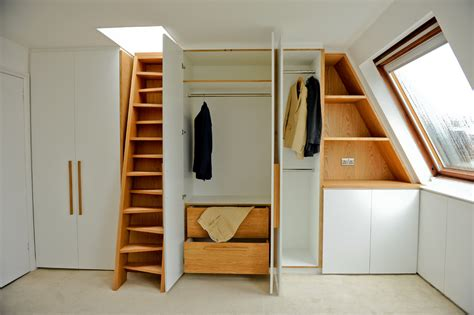 Home Office Design With Kitchen Cabinets baroque attic storage trend london contemporary closet