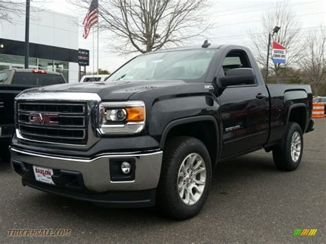 Sle Sales by 2015 Gmc 1500 Sle Regular Cab 4x4 In Onyx Black