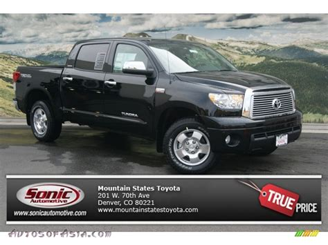 Toyota Tundra Crewmax Limited 4x4 For Sale 2012 Toyota Tundra Limited Crewmax 4x4 In Black 266501