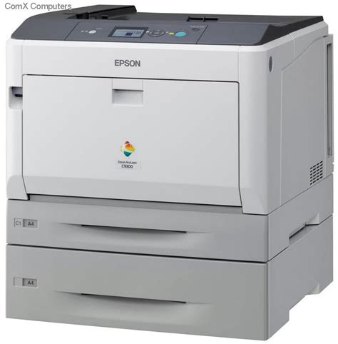 Printer Laser A3 Epson specification sheet aculc93006n epson aculaser c9300tn a3