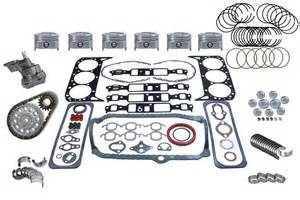 chevy truck 262 4 3 87 92 engine rebuild kit p30 ebay