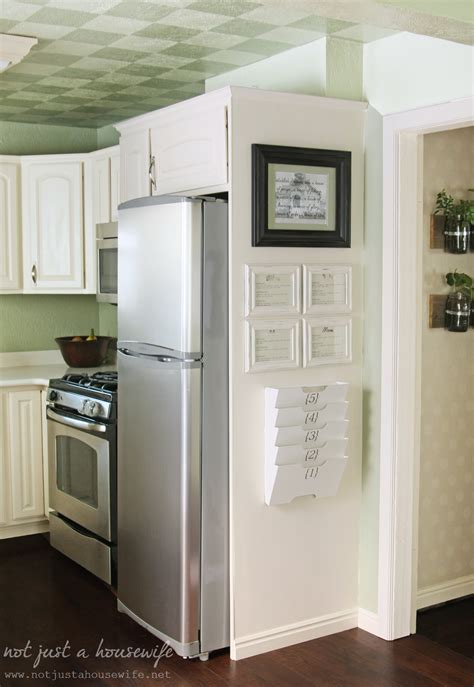 Kitchen Wall Organization Ideas Kitchen Command Center Not Just A