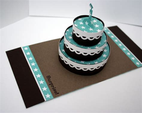cake pop up card template best photos of birthday cake 3d paper template birthday