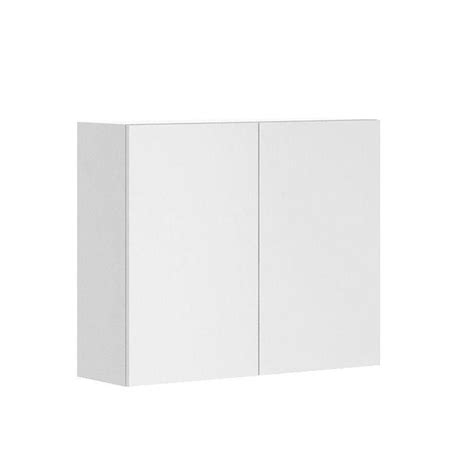 white melamine cabinet doors fabritec ready to assemble 36x30x12 5 in alexandria wall cabinet in white melamine and door in