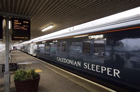 Sleeper To Fort William by Inaugural Caledonian Sleeper Leaves Fort William