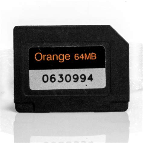 Mmc Rsdv 64mb Original Nokia orange 64mb multimedia mmc memory card for nokia 6230i
