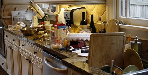 messy kitchen welsh men to receive free how to wash up as you go along