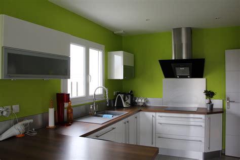 cuisine peinture verte salon s 233 jour cuisine lassy 35