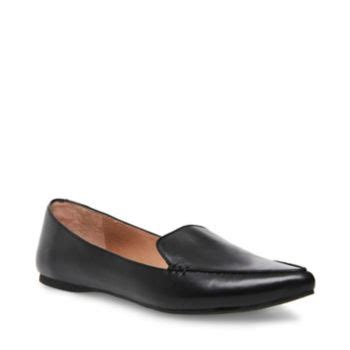 Steve Madden Feather Loafer Flat by S Leather Loafers With Pointed Toe Steve Madden Feather