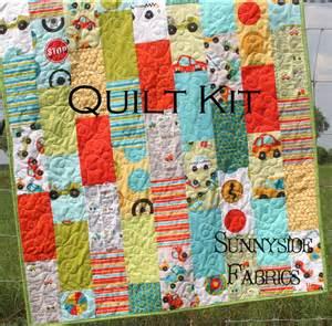 quilt kit peak hour baby boy crib pathway quilt pattern