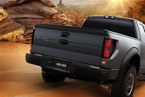 ford   raptor   recon smoked headlights tail lights  brake light led side