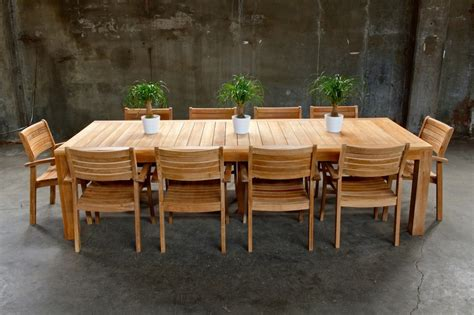 teak patio dining set modern teak patio dining set teak furnitures