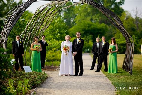 Botanical Gardens Weddings Matthaei Botanical Gardens Wedding Jenn And