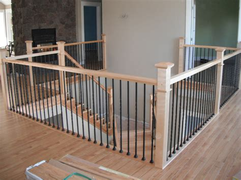 metal banister plain twist metal balusters scotia stairs ltd