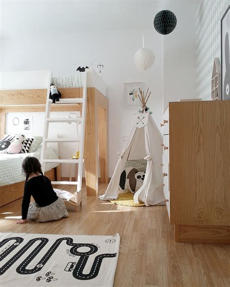 a scandinavian style shared girls room by scandinavian style 2 amazing scandinavian style kids rooms petit small