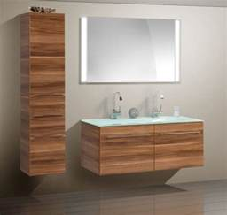 Modern bathroom cabinet with different color finish modern