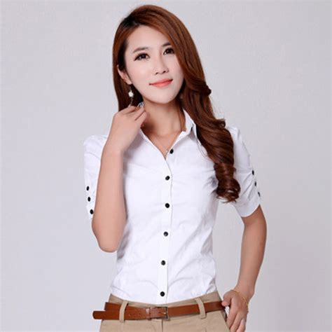 blusa blanca mujer camisas blusas chemise femme
