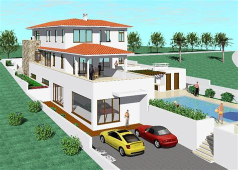 Home Design Story Pool New Home Designs Latest Modern Double Story Home Design