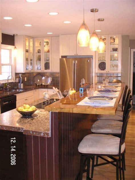 custom mahogany wood kitchen countertop in blue bell pa raised kitchen island のおすすめアイデア 25 件以上 pinterest