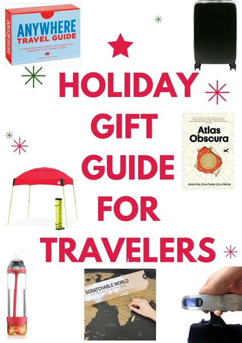 holiday gift guide 2015 gifts for travelers