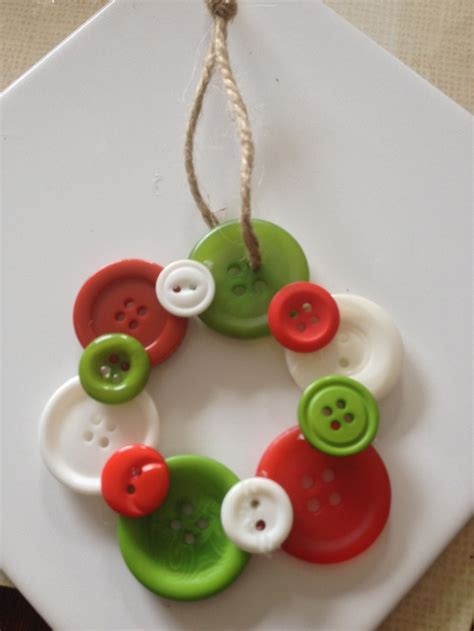button ornament for christmas tree craft ideas pinterest