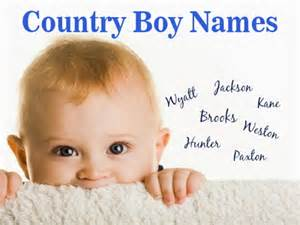 country boy names top 100 country baby names for boys