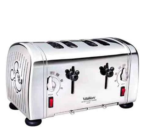 Mickey Toaster Villaware Mickey S 4 Slice Classic Toaster Qvc