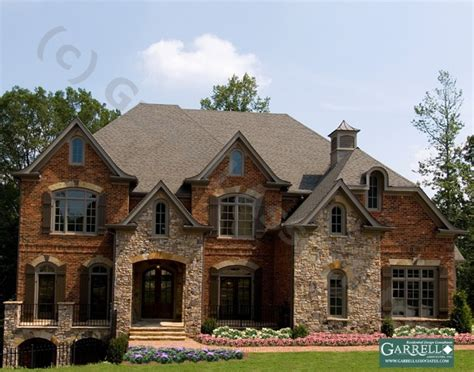 stone homes plans 13 best rock brick house exterior images on pinterest