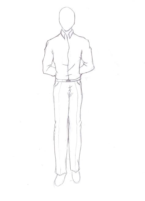 Drawing Of A Standing Up by Standing Clothes By Sanorabluebird On Deviantart
