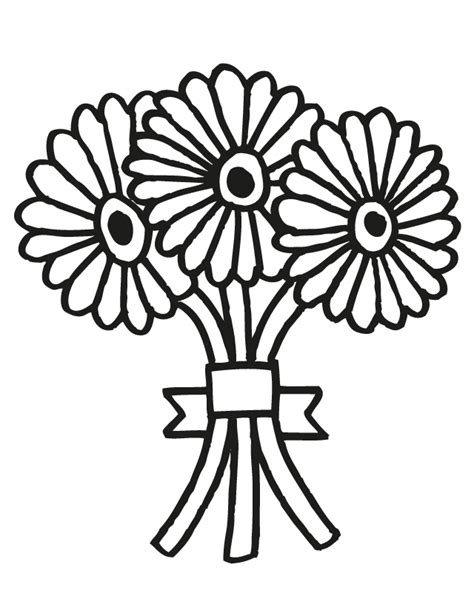 printable wedding flowers wedding bouquet 2 free printable coloring pages