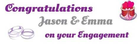 congratulations on your engagement card template welcome to the banner warehouse pvc banners for any
