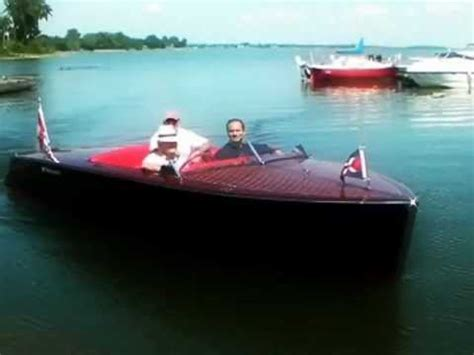electric runabout boat electric bruce22 runabout electric inboard engine doovi