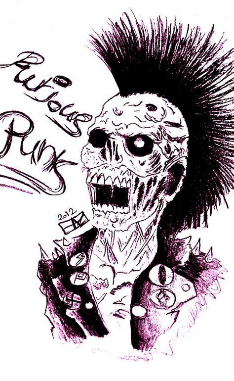 wallpaper cartoon punk skull cartoon wallpaper www imgkid com the image kid