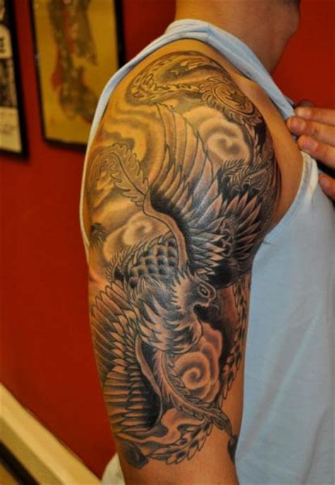 eagle japan tattoo 69 designer japanese shoulder tattoos