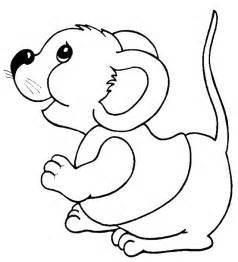 cute mouse coloring page images