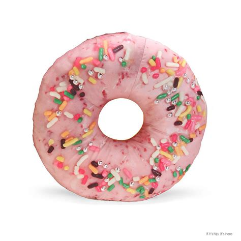 Donut Pillow 28 Images Pink Frosted Doughnut Pillow By