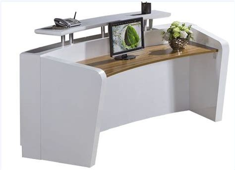 factory price cheap small modern beauty reception desk for
