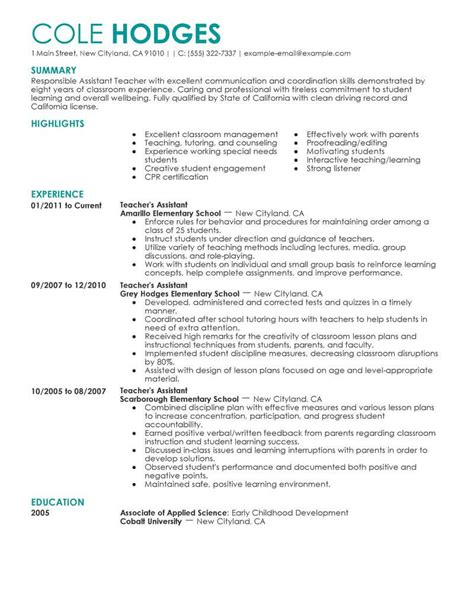20 child care assistant resume lock resume