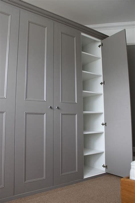 Ideas For Built In Wardrobes by All White Would Be Floating Shelves Are Maybe