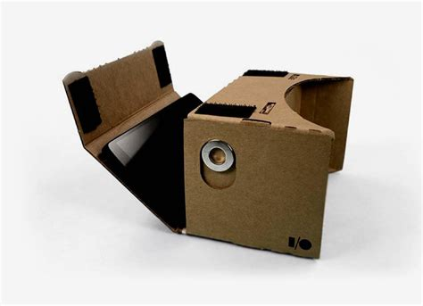 designboom virtual reality google cardboard turns smartphones into a virtual reality