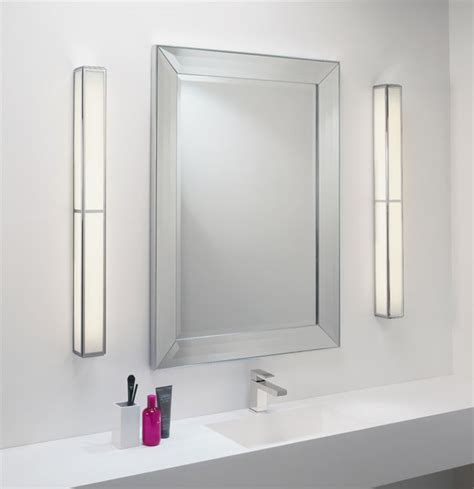 bathroom wall mirrors with lights mashiko 900 low energy ip44 bathroom wall light mirror
