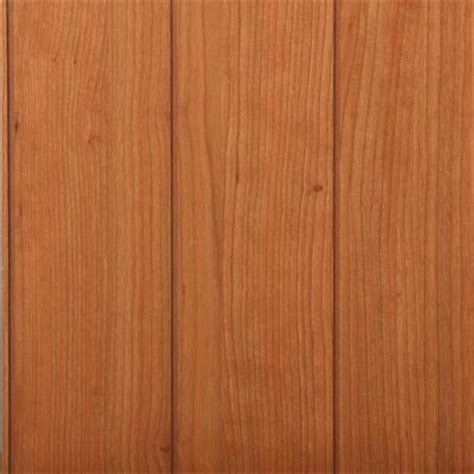 Mdf Wainscoting Home Depot 32 Sq Ft Braden Cherry Mdf Paneling 96620 139 The Home