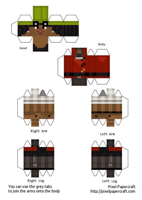 haus lukas mösern papercraft de minecraft story mode taringa